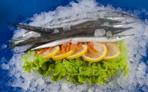 Замразена риба Зарган