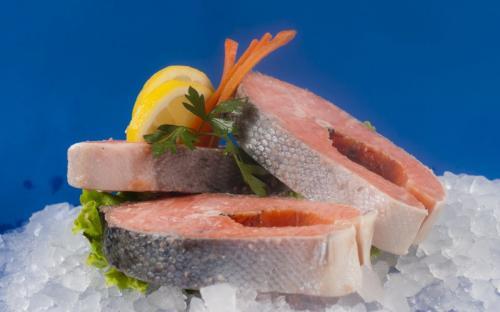 Замразена риба Сьомга котлет