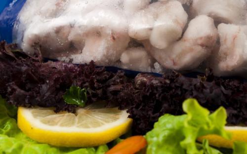 Замразена риба Кралски скариди без глави с опашки