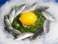 Замразена риба Сафрид Черноморски - 12 см